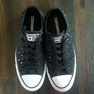 Converse Shoes with Studs